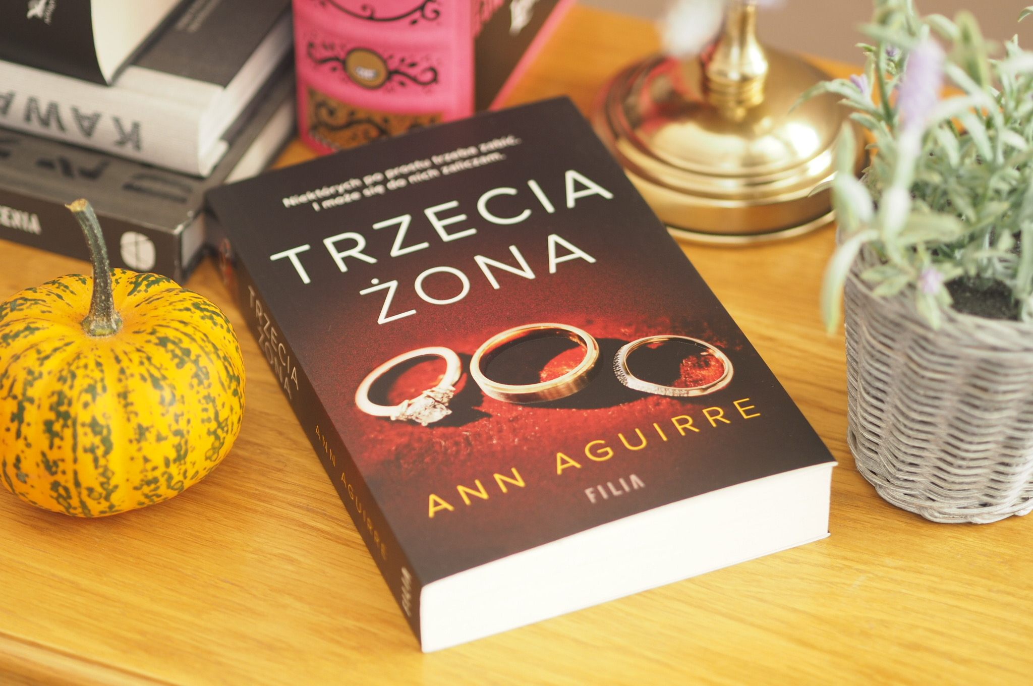 "ANN AGUIRRE ""TRZECIA ŻONA"""